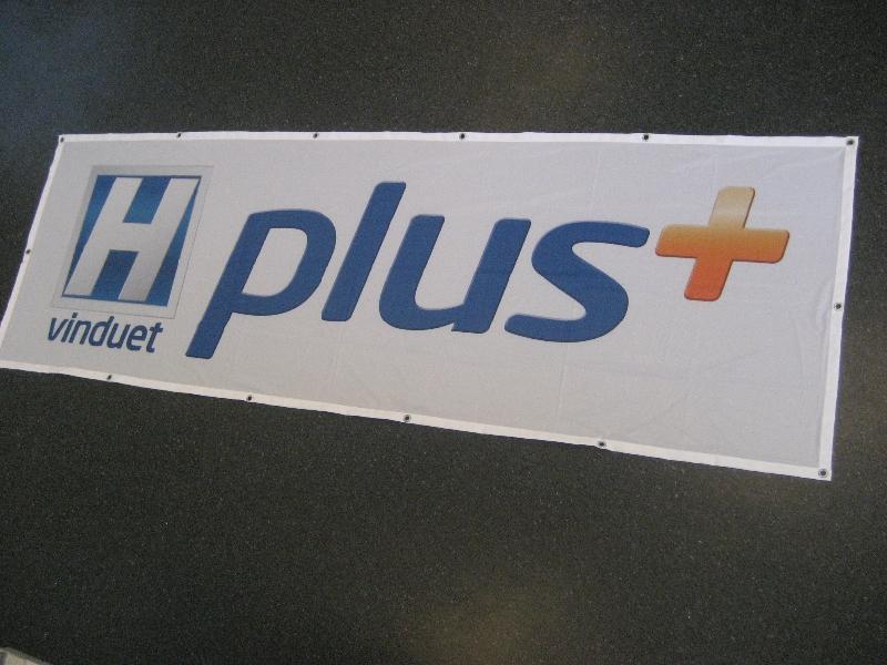 Digitaltrykket banner
