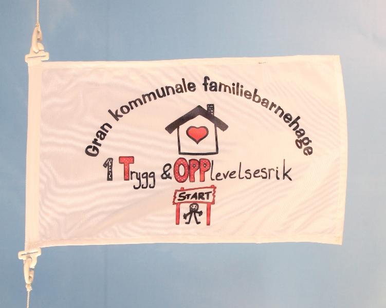 Digitaltrykket flagg