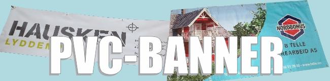 PVC bannere