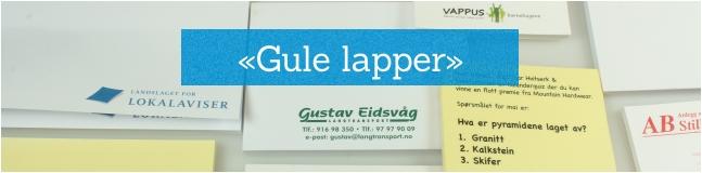 Notisblokker med logo.