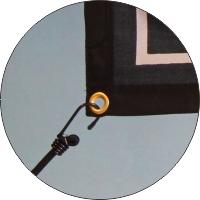 Banner malje med strikk